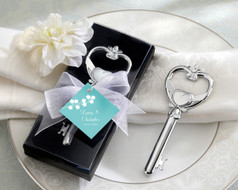 96 Key to my Heart Victorian Bottle Opener Wedding Favors