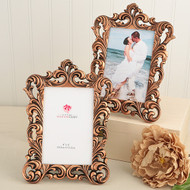 36 Baroque Copper Color Frame Table Number Holders for Weddings