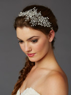 Wedding Hair Vine with Lavish Crystal Sprays
