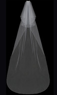 Two Tier Cathedral Wedding Veil enVogue V202C