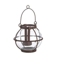 12 Small Rustic Heirloom Candle Lanterns for Wedding Decorations