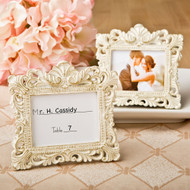 100 Vintage Baroque Place Card Holder Frame Wedding Favors