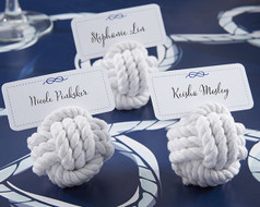 144 Nautical Cotton Rope Place Card Holders