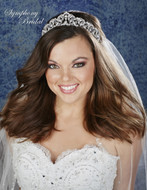 Symphony Bridal Regal Filgree Wedding Tiara 7932CR
