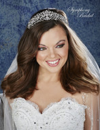 Stunning Symphony Bridal Wedding Tiara 7933CR