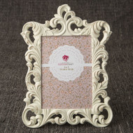 18 Baroque Ivory 5 x 7  Frames with Brushed Gold for Weddings