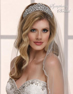 Stunning Symphony Bridal 7824CR Wedding Tiara