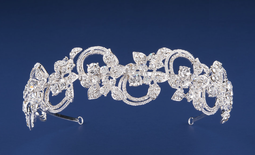 Silver Plated Rhinestone  Wedding Headband hp22433