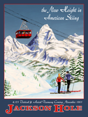 Jackson Hole Tram Poster