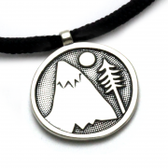 "Tarma ""Mountains for Me"" Pendant"