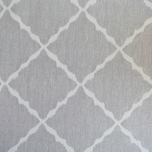 Kravet Ikat Strie Pewter Fabric