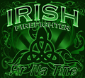 Irish Firefighter Sticker