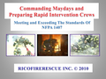 [BOOK & CD] Commanding Maydays and Preparing Rapid Intervention Crews