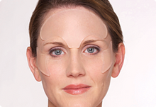 Anti Wrinkle Facial Pads for Brow and Crows Feet