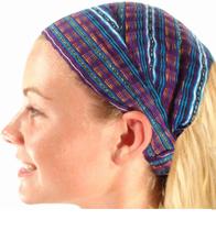 Wide Cotton Headband One Size