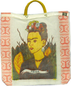 Frida Kahlo Market Bag Recycled Fibers