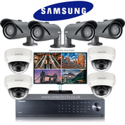 8 Samsung Camera CCTV Wisenet HD Security Camera system SCV-6083R