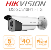 Hikvision  5MP Bullet - 40 metre nightrange DS-2CE16H1T-IT3