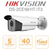 Hikvision  5MP Bullet - 40 metre nightrange DS-2CE16H1T-IT3