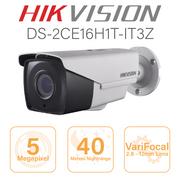 Hikvision 5MP Bullet - 2.8mm - 12mm motorised lens DS-2CE16H1T-IT3Z