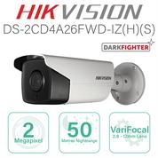 Hikvision IP Bullet 50m Nightrange DS-2CD4A26FWD-IZS(8-32mm)