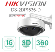 Hikvision Fisheye PanoVu IP with 3D Operation DS-2DP1636-D