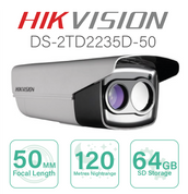Hikvision Thermal IP Series Bullet with 50mm Focal  DS-2TD2235D-50