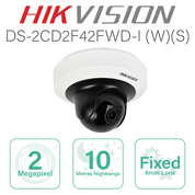 Hikvision 2MP Mini PT Network SD Card Slot with 6MM Lens