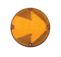 "ECV7561TYA-FA, Sound off LED FA Series 7"" Turn Signal with Arrow (Amber)"