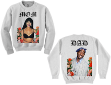 Mom & Pop Crewneck (double-sided print)