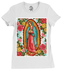 Guadalupe White Tee