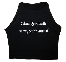 Apple Sauced Selena Is My Spirit Animal Crop Tank
