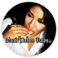 Apple Sauced Selena Y Tacos Button