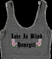 Apple Sauced Love Is Blind Homegirl Crop Tank