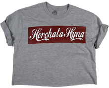 Apple Sauced Horchata Hyna Crop Tee