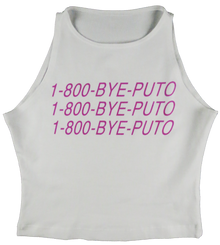 Apple Sauced 1800BYEPUTO Crop Tank