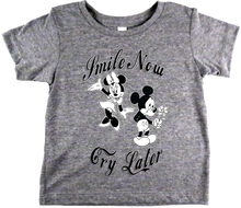 Apple Sauced Smile Now Cry Later Baby Tee