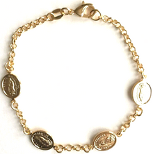 18K Gold Filled Guadalupe Bracelet