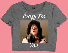 Crazy For You Crop Tee