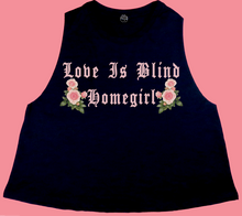 Love Is Blind Racerback Crop Tank
