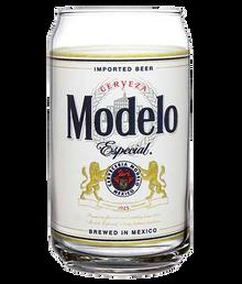 Modelo Especial Bottle Label Pint Glass