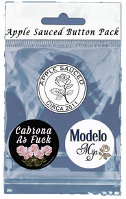 Apple Sauced Cabrona Button Pack (3 Buttons)