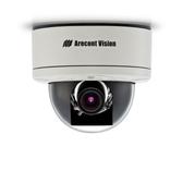 AV3155: Arecont Vision, 3 Megapixel MegaDome¨ H.264/MJPEG IP Color All-In-One Camera, 4.5-10mm Megapixel Varifocal Lens, IP66 Vandal Resistant Dome Housing, 12VDC/24VAC/PoE
