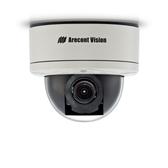 AV5255AM-A: Arecont Vision, 5 MP MegaDome¨2, 2592X1944, 14 fps, Day/Night, 3.6-9mm Remote Focus, Remote Zoom Auto Iris Lens, Audio, 12VDC/24VAC/PoE