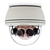 AV8185CO-HB: Arecont Vision, 8.0 Megapixel Color Only H.264/MJPEG 180û Camera, 6400x1200, 4 x 8mm MP Lens, Surface/hard-ceiling mount, Indoor/Outdoor, IP66, 12VDC/24VAC/PoE, Heater/Blower