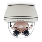 AV8365CO-HB: Arecont Vision, 8.0 Megapixel Color Only H.264/MJPEG 360û Camera, 6400x1200, 4 x 4mm MP Lens, Surface/hard-ceiling mount, Indoor/Outdoor, IP66, 12VDC/24VAC/PoE, Heater/Blower