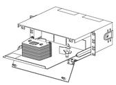 CSH-03U: Corning Closet Splice Housing, 3 RU
