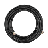 SC-001-100 | SureCall 100 feet SC-400 Ultra Low Loss Coax Cable with N-Male Connectors - Black