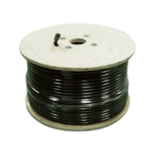 SC-006-1000 | SureCall 1000 feet SC-600 Ultra Low Loss Coax Cable. Spool, Connectors Not included - Black