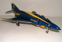 "F-4 Phantom II US Navy ""Blue Angels"" Acrobatic Team"